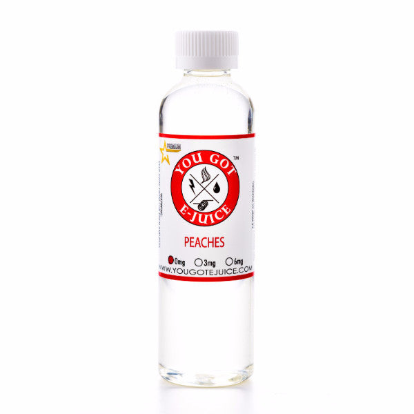 Peaches 240ML - yougotejuice.com
