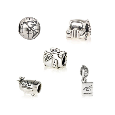 Authentic Pandora Sterling Silver Beads