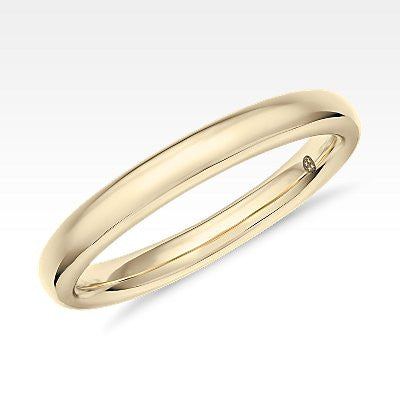 Colin Cowie Classic Wedding Ring in 18k Yellow Gold