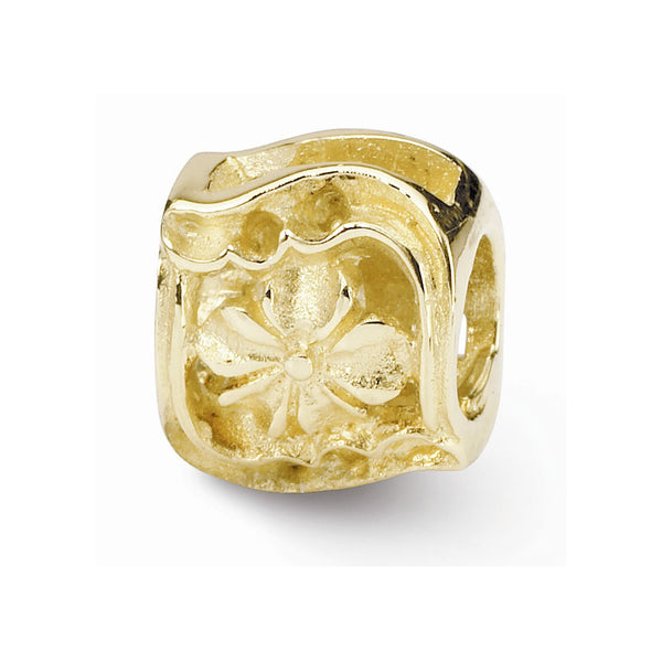 NEW ARRIVAL 14k Gold Reflections Clover Bead