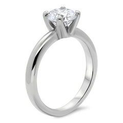Forever One Solitaire Moissanite Engagement Ring - Giselle - Moissanite Rings
