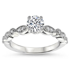Vintage Inspired Engagement Ring Setting - Sweet Bliss
