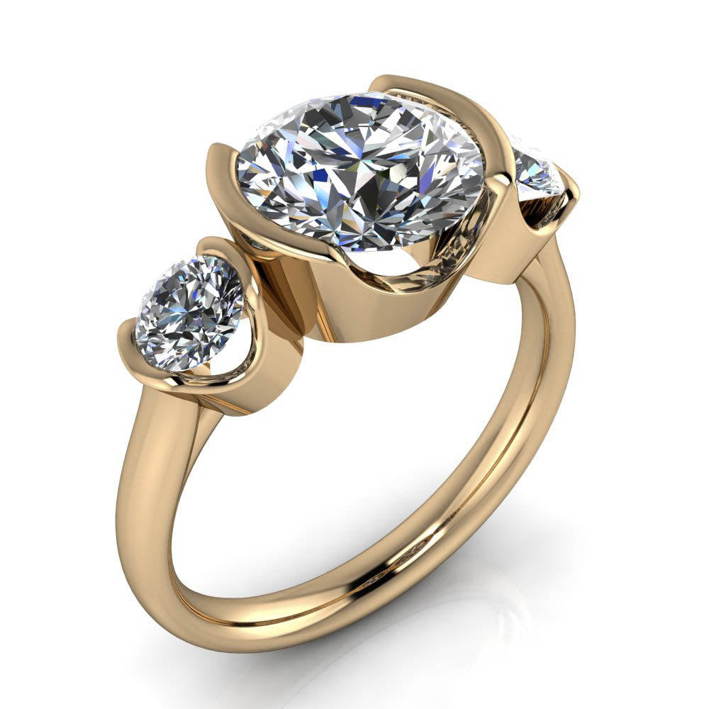 stand shop common style yellow diamonds seven shared band up prong stone wedding gold by rings diamond ring