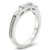 Diamond Baguette Wedding Band - Maxine WB - Moissanite Rings