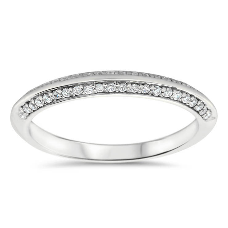 Knife Edge Wedding Band - Kourt Wedding Band