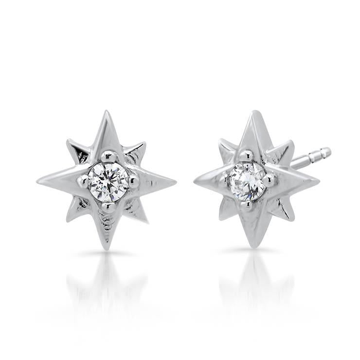 Diamond Burst Studs
