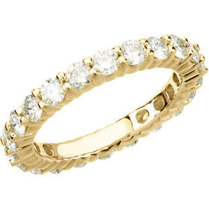 2.25 Carat  Diamond Eternity Band