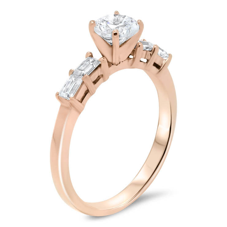 peach sapphire white gold buy certified jon julia engagement carts rose rings ring sku pink untreated