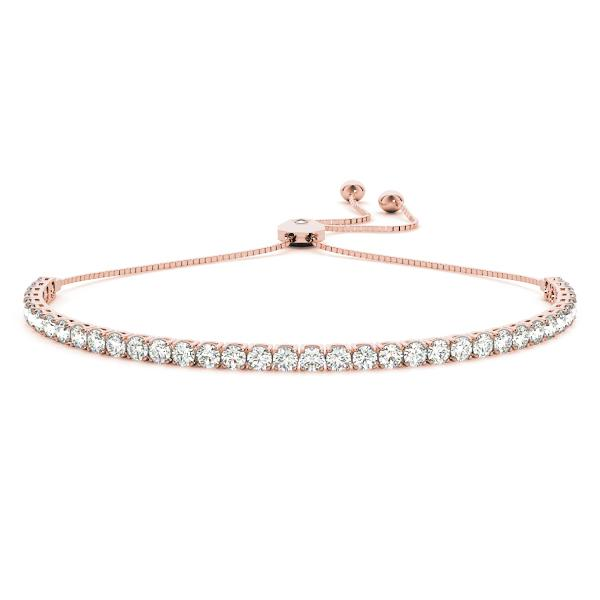 Adjustable Diamond Tennis Bracelet 3.60