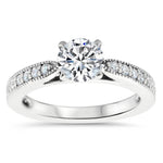 Jette - Moissanite Rings