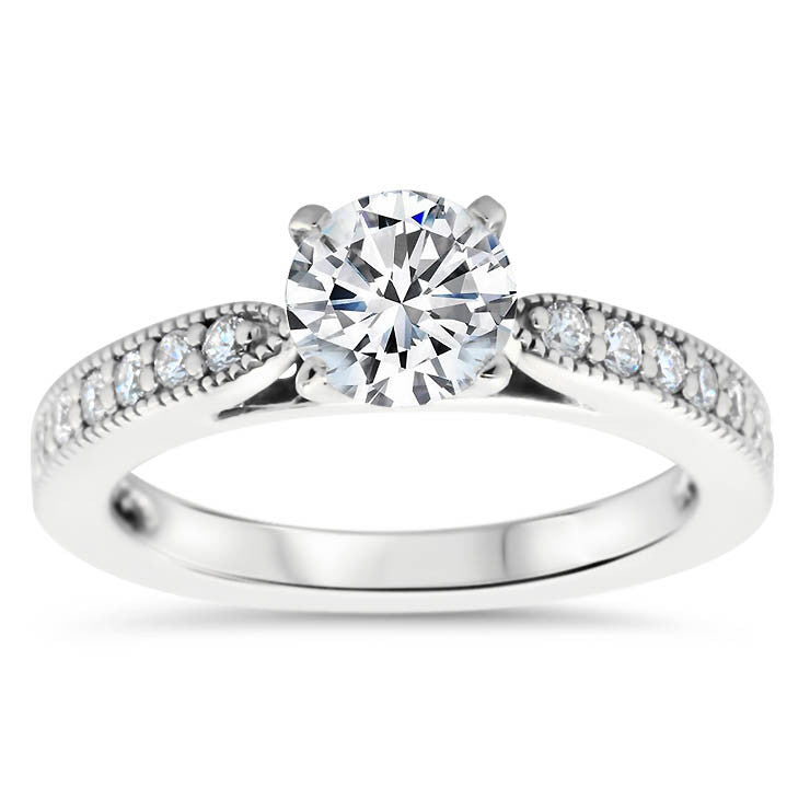 Jette Matching Set - Moissanite Rings