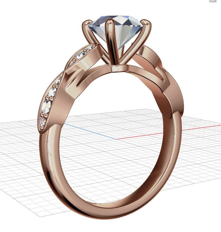 Final Payment - RH - Moissanite Rings