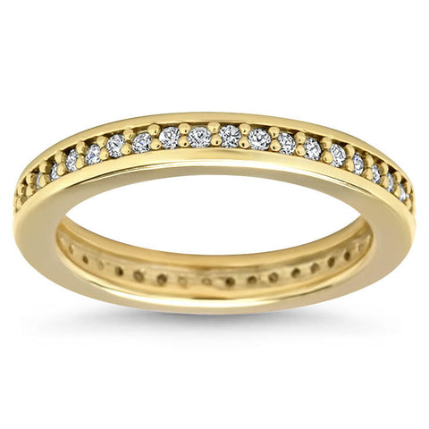 Diamond Eternity Wedding Band - Vida - Moissanite Rings