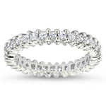 Princess Cut Diamond Eternity Wedding Band - Princess for Eternity - Moissanite Rings
