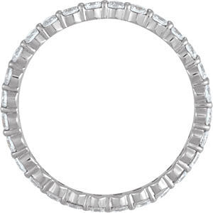.50 Carat Diamond Eternity Band - Moissanite Rings