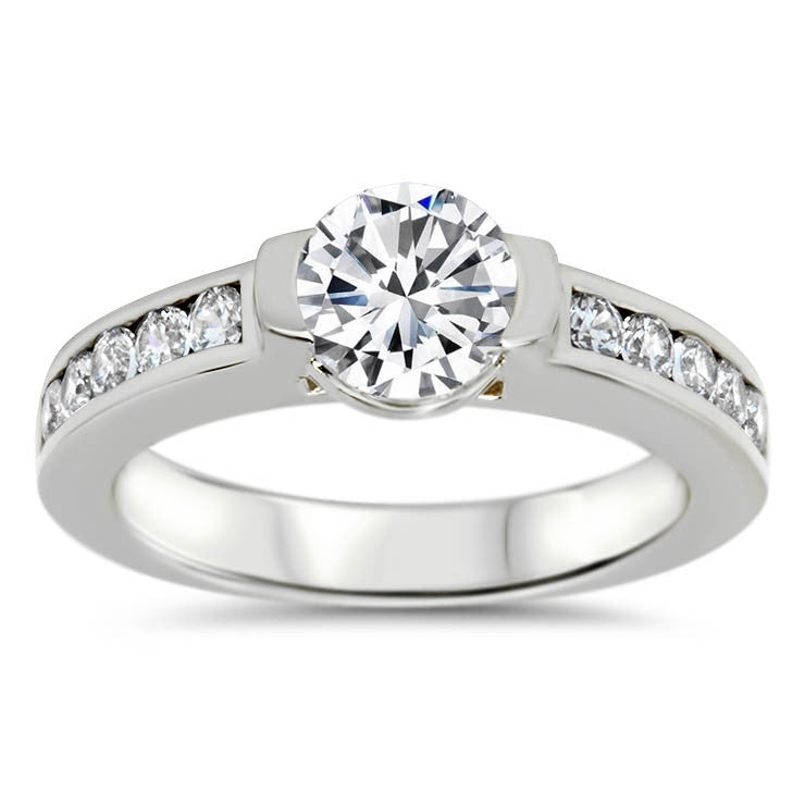 ef - Moissanite Rings