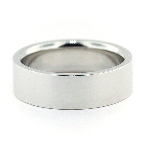 Men's Wedding Band -  Band of Gold - Moissanite Rings