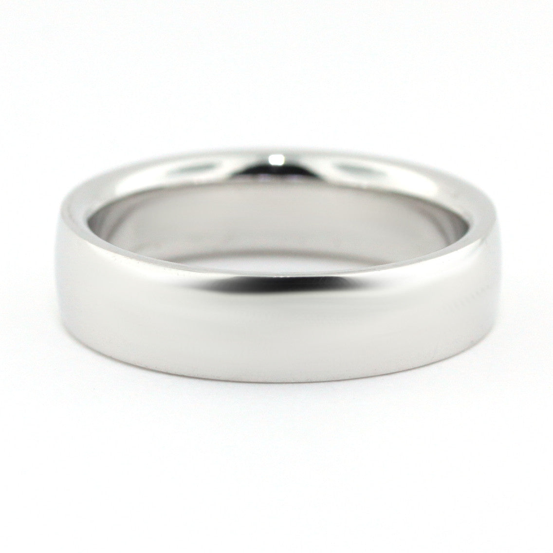 Men's Wedding Band -  Pat - Moissanite Rings