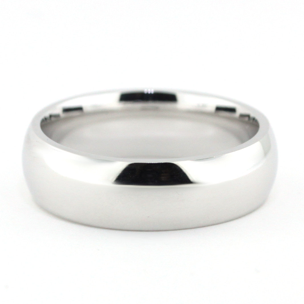 Men's Wedding Band - John - Moissanite Rings