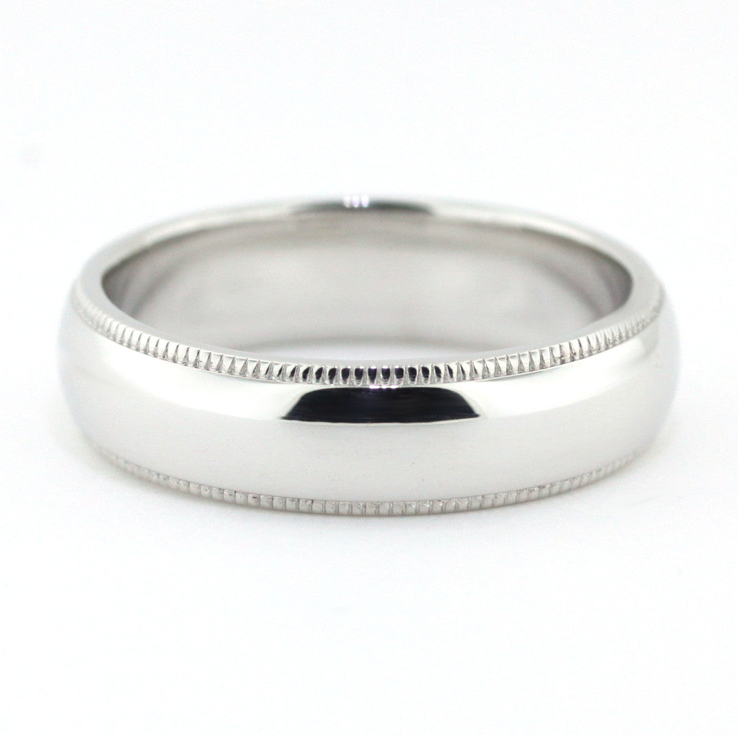 Men's Wedding Band - Carlo - Moissanite Rings
