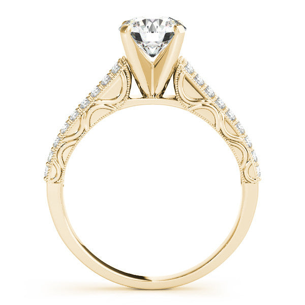 Moissanite Engagement Ring Diamond Setting - Prett - Moissanite Rings