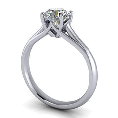8.5 mm Solitaire Moissanite Engagement Ring Forever One - Giselle - Moissanite Rings