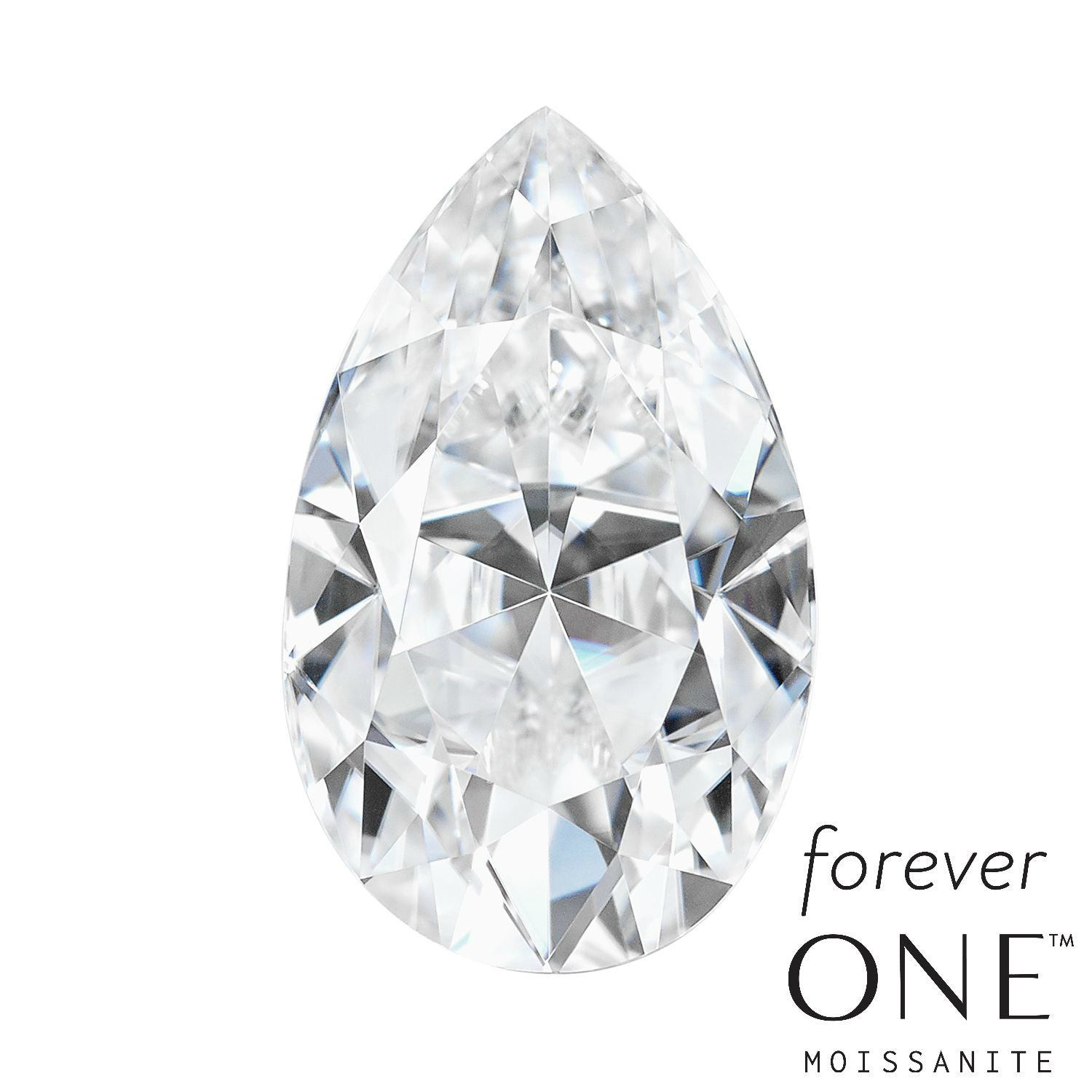 loose moissanite amazonaws one media shape gemstone pear products rings foreverone forever