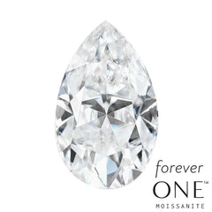 Pear Shape Forever One Moissanite Loose Gemstone - Moissanite Rings