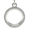 Circle of Diamonds Pendant and Chain - Moissanite Rings