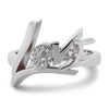 Love Ring - Moissanite Rings