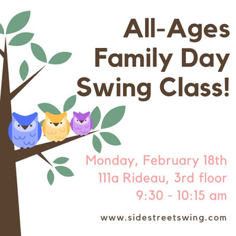 Family Day Dance Class!  Feb 18, 9:30 - 10:15 am