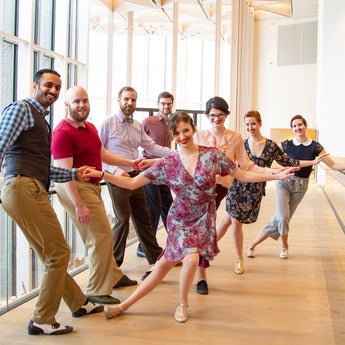 Int/Adv Lindy Hop, Sept 9 - Dec 9, Mondays, 7:00 - 8:30