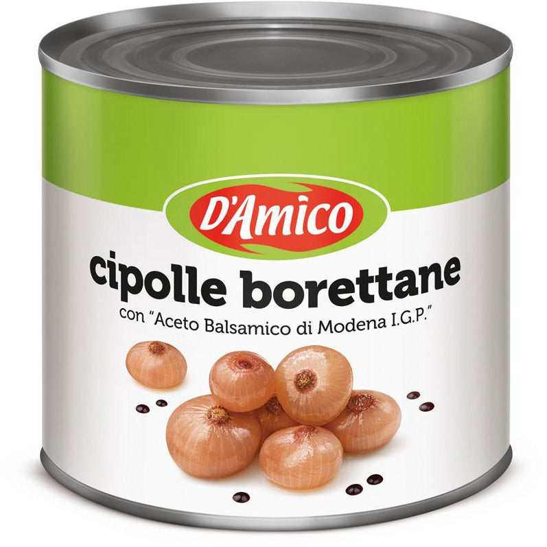 D'Amico Borretane Onions in Balsamic Vinegar 2550g