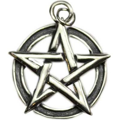 Pendant - Pentagram Interwoven