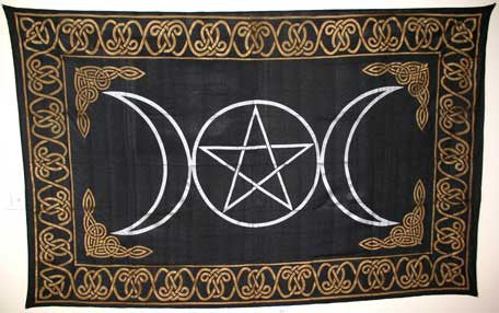 Tapestry Triple Goddess