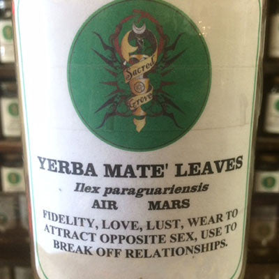 Yerba Mate Leaves