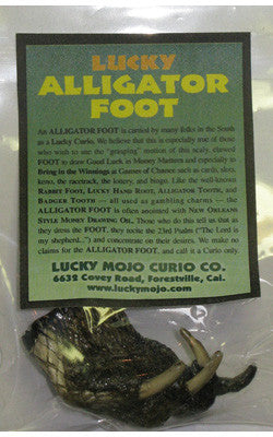 LMC Alligator Foot