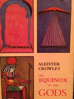 Rare - Equinox of the Gods by Aleister Crowley (Out of Print)