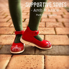 Supportive shoes for kids. Arch and Ankle support. Australia Wide. Fitting available.