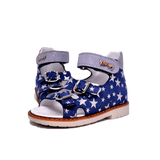 Sandals Woopy Night Sky Stars Girl Arch and Ankle Support Baby Plus Australia Fancy View