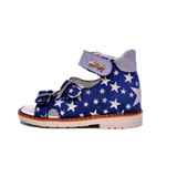 Sandals Woopy Night Sky Stars Girl Arch and Ankle Support Baby Plus Australia Side View