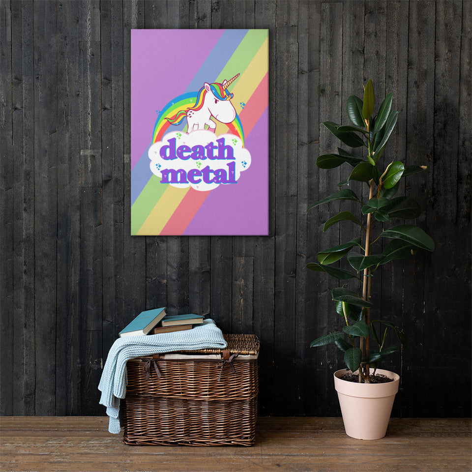 Death Metal Unicorn Wall Art