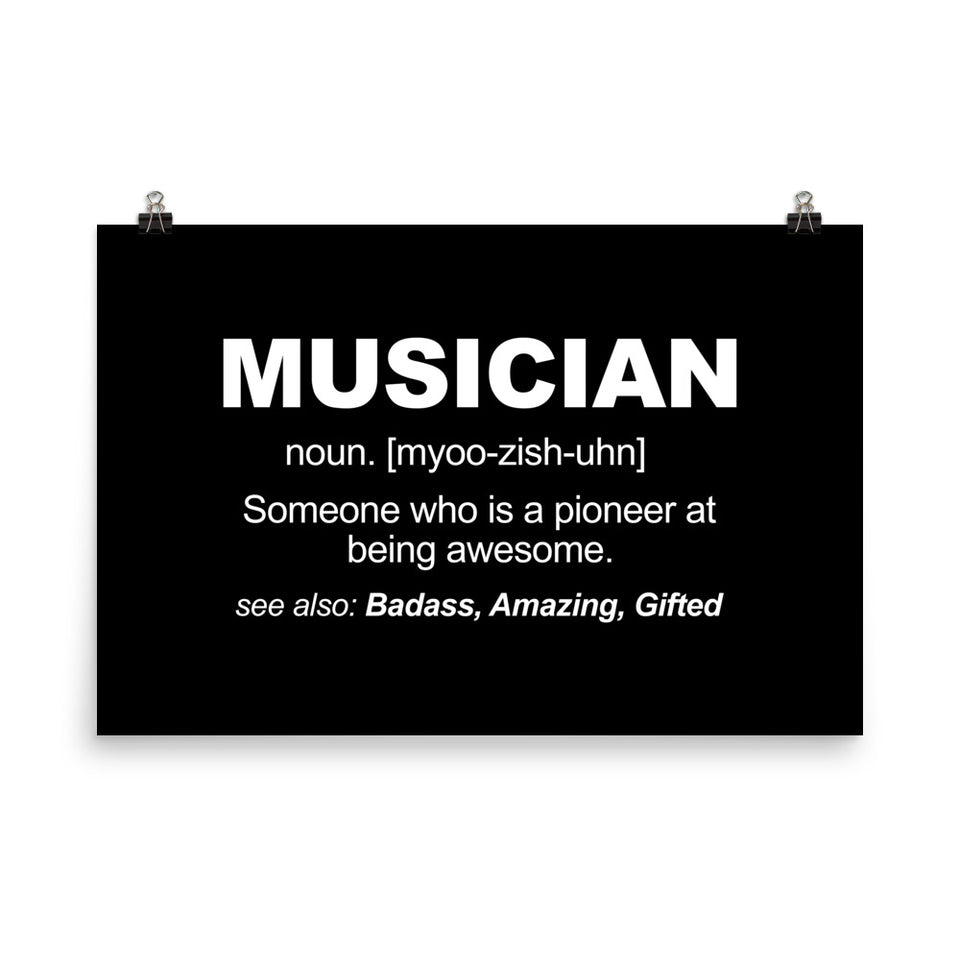 Essential Musician Wall Art