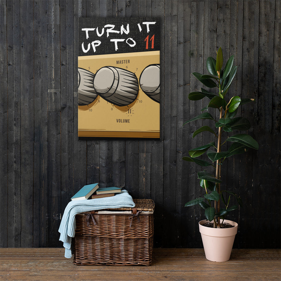 Turn It Up To 11 Wall Art