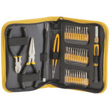 35 Piece Multi-purpose Precision Tool Kit with Vinyl Case