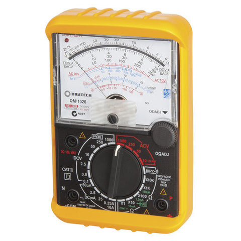 Analogue Movement Multimeter