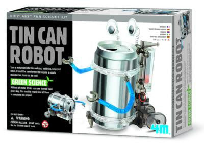 GREEN SCIENCE: TIN CAN ROBOT