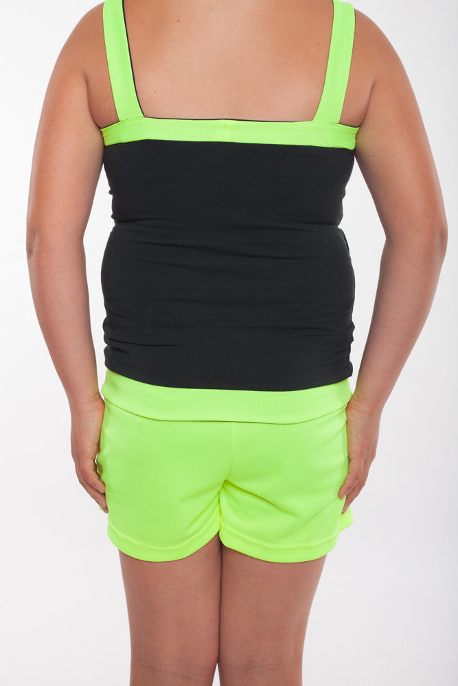 Girls Sports Shorts with built in shorts underneath, tennis shorts, girls shorts, girls activewear, girls tennis shorts
