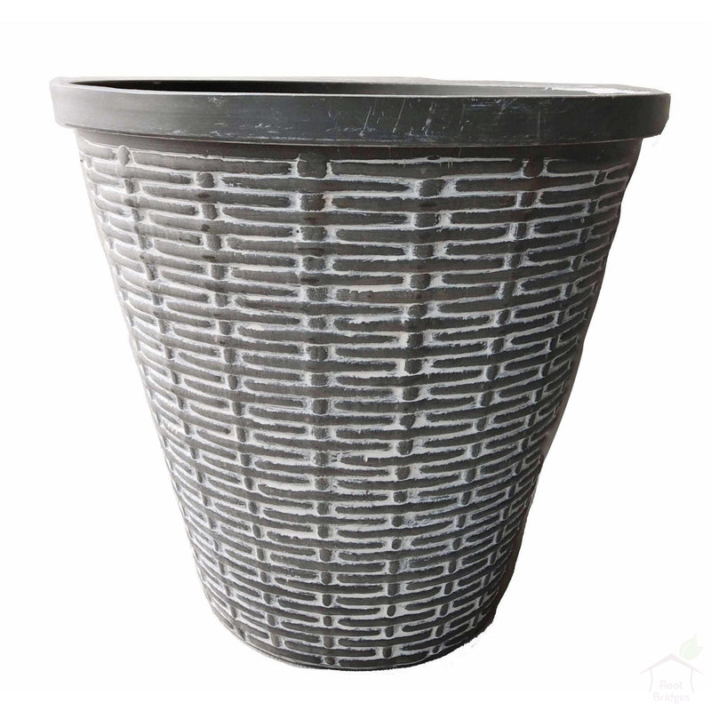 "Pots 11"" Biodegradable Basket Pot"
