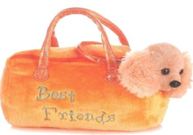 6086 - Cocker Spaniel in Best Friends Bag - Tamarr Imports Innovative Giftware Pty Ltd